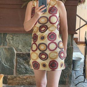 Kookai Retro Design Dress Size S